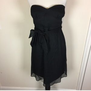 Silk JCrew Strapless Dress